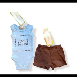 NWT L'oved Baby Outfit